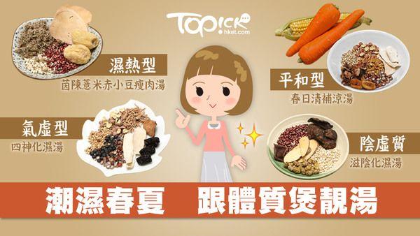 濕熱 還是 氣虛 跟住體質煲靚湯 香港經濟日報 Topick 健康 D170411 Food Healthy Recipes Soup Recipes