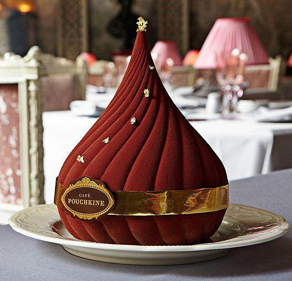 Dessert russe au Café Pouchkine
