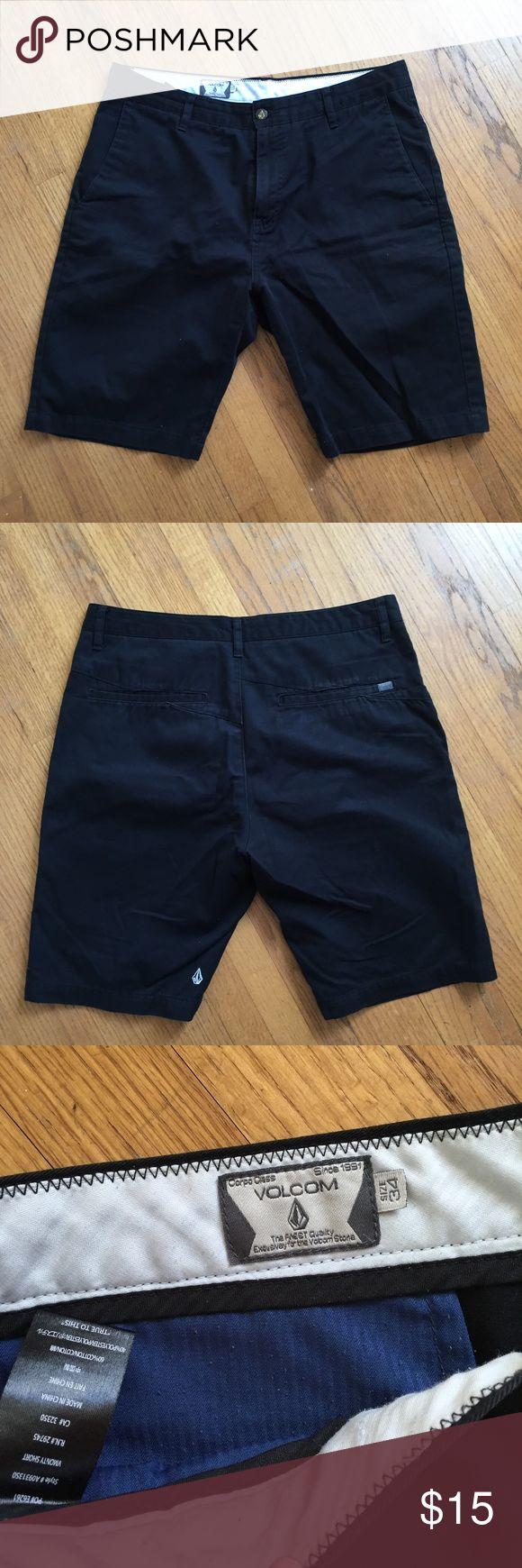 Men's black Volcom Shorts size 34 Men's Black Volcom Shorts in size 34. Excellent used condition! Volcom Shorts