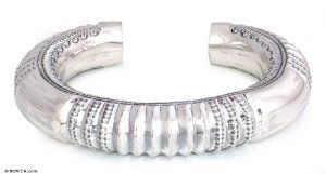 Sterling silver cuff bracelet, 'Sweet Spirit' NOVICA. $204.95