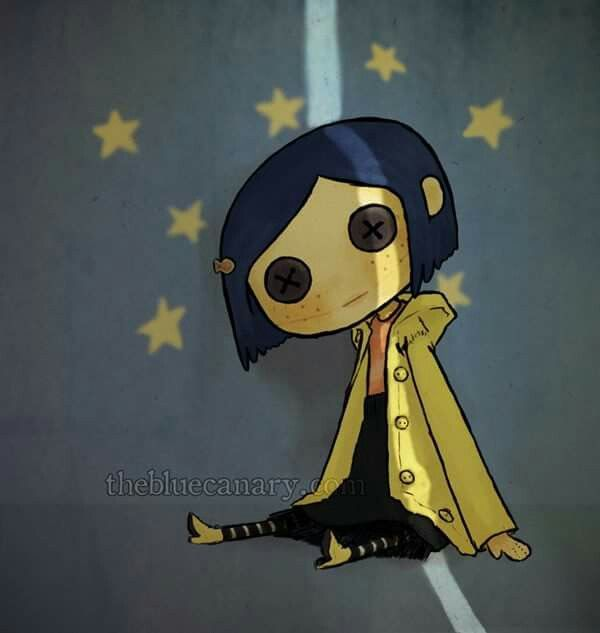 Coraline. Artist unknown. ❣Julianne McPeters❣ no pin limits