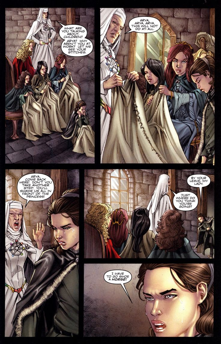 A Game Of Thrones Issue 3 Read A Game Of Thrones Issue 3 Comic Online In High Quality Arya Stark Taht Oyunlari Kizlar