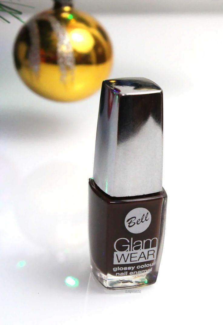 Glam Wear Glossy Colour BELL ciemny brąz