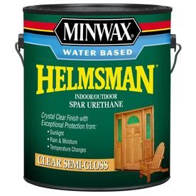 Etonnant Minwax Helmsman 128 Fl Oz Semi Gloss Water Based Varnish