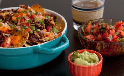 Epicure's Slam-dunk Pulled Pork Nachos