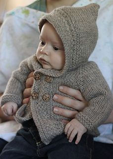 Super cute knitted coat that I would love to try