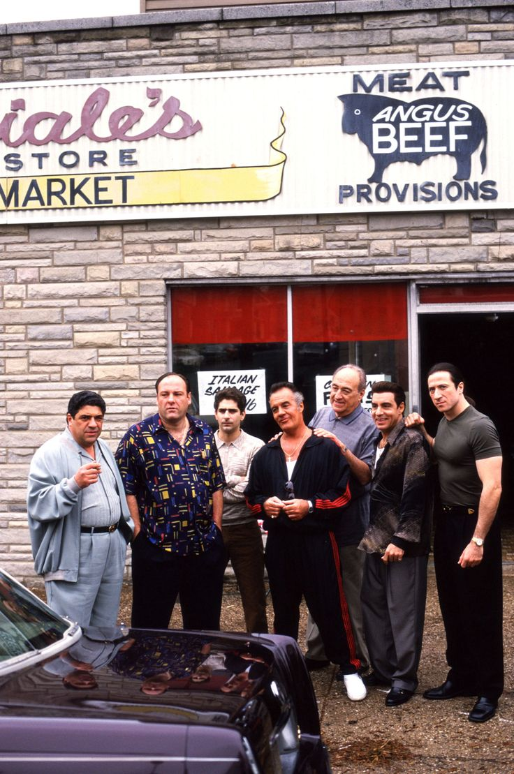 The Sopranos - Mafia Style - No ones wears wife beaters & track suits better than wiseguys <3