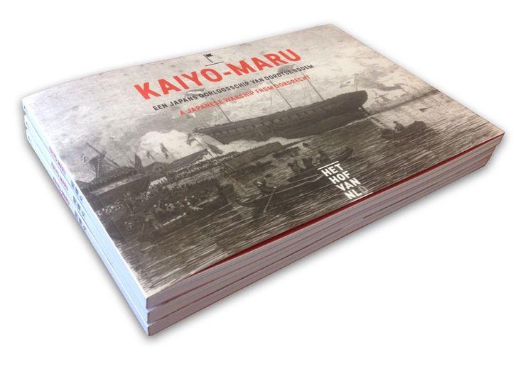 Kaiyo-Maru book, Het Hof van Nederland. Design by Rogier Bot
