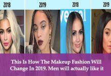 This Is How The Makeup Fashion Will Change In 2019. Men will actually like it
