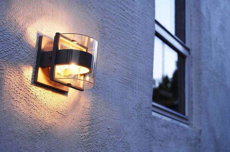 Außenwandlampen - Toll schnelle Lichtakzente für Haus und Garten.