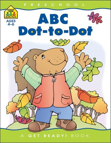 Preschool Workbooks 32 Pages-Abc Dot To Dot (Case of 4)