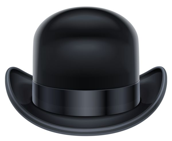 Bowler Hat PNG Clipart