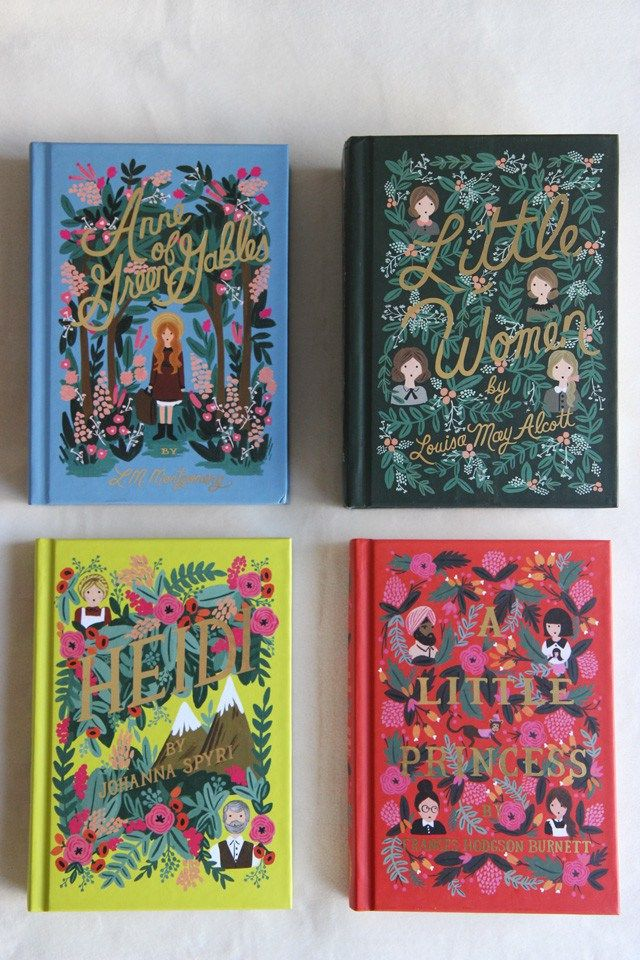 Anna Bond x Penguin Classics: The Puffin In Bloom Book Collection - York Avenue