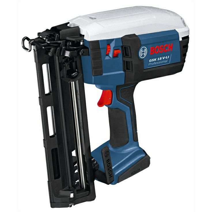 bosch professional 18v li ion cordless nail gun skin only workshop pinterest nail gun. Black Bedroom Furniture Sets. Home Design Ideas