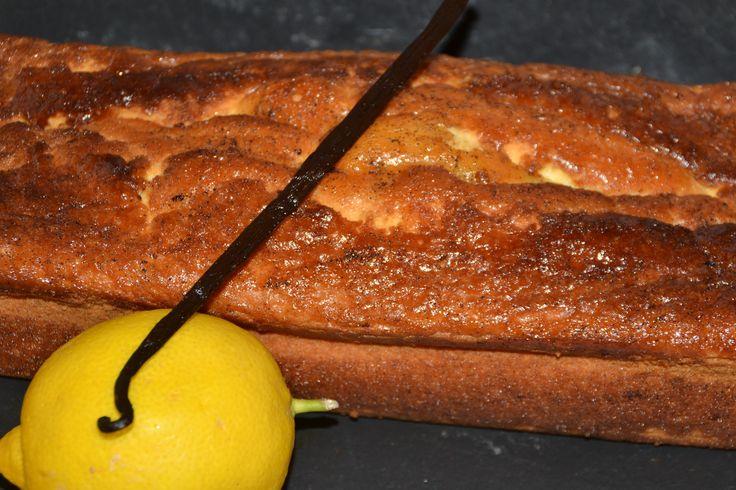 Cake extra moelleux sans gluten citron - vanille