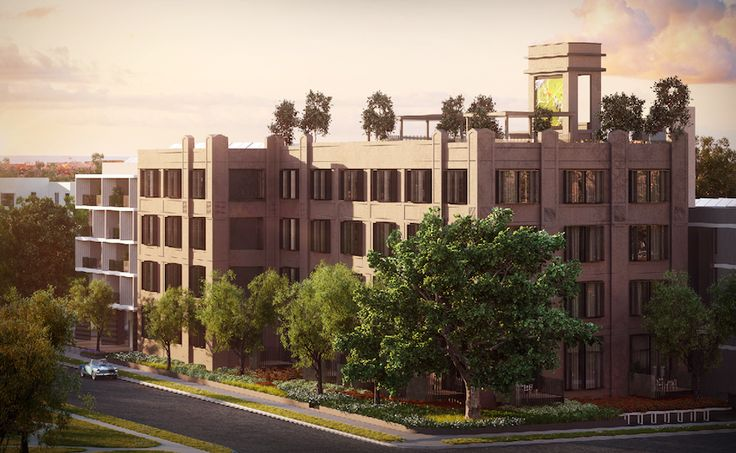 'The Burcham' redevelopment in Rosebery. Image supplied.]