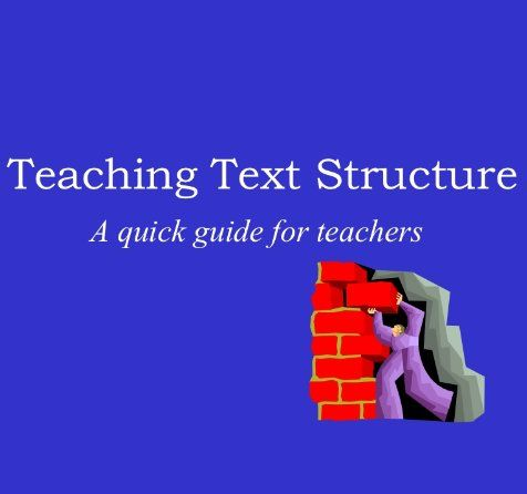 Teaching Text Structures Slideshow