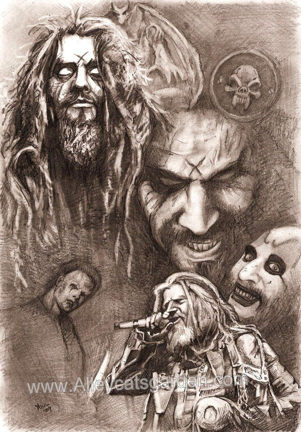 Rob Zombie by Alleycatsgarden.deviantart.com on @deviantART
