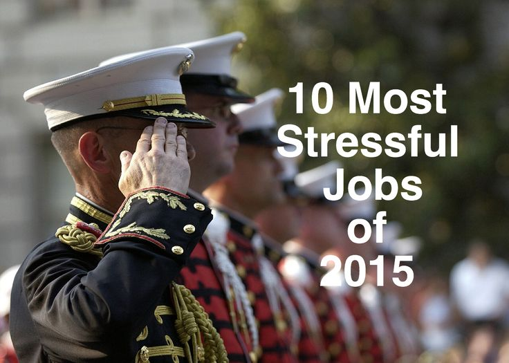 10 Most Stressful Jobs of 2015
