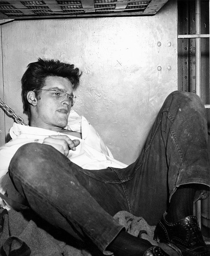 The killing spree that transfixed a nation:  Charles Starkweather and Caril Ann Fugate