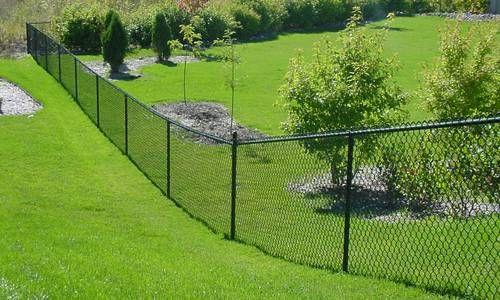 Vinyl Chain Link Fence 01