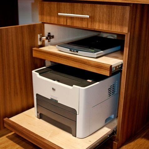 Teak Waterfall Desk & Floating Shelves Suite
