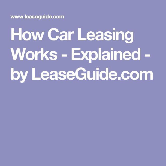 Best car leasing options