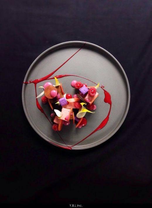 Yann Bernard Lejard - The ChefsTalk Project - Plum Raspberry chocolate