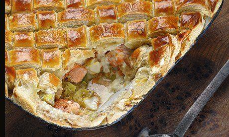 Tom Kerridge's Christmas Eve fish pie: Make sure your festivities kick off with a tasty bang. Photograph: Dan Matthews for the Guardian. Foo...