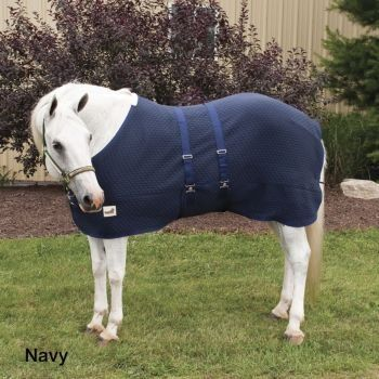Defender Wool Dress Cooler w/Warmer 81In Navy by Defender. $62.99. Defender(R) Wool Thermo Cell Cooler with Belly Warmer Designed for multiple uses this cooler can be used to effectively and quickly cool your horse and as a transport sheet, stable blanket and blanket liner. Contoured fit with adjustable belly warmer makes this a durable solution when needing to add additional warmth or to quickly wick away moisture and dry your horse. Features: Thick Wool/Acrylic Blend Mat...