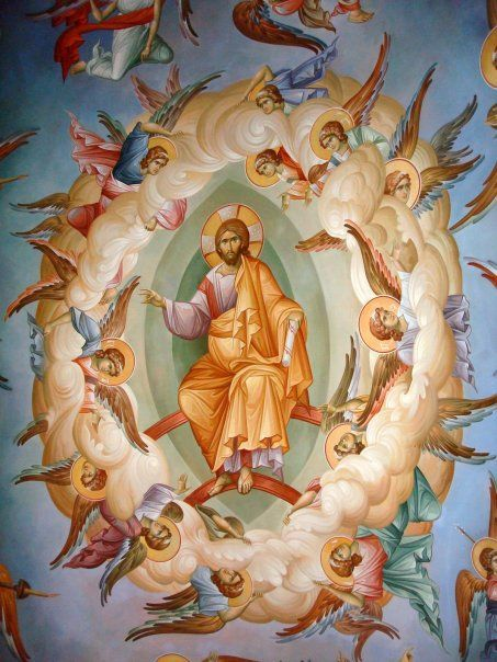Christ surrounded by Angels Orthodox - Google Search