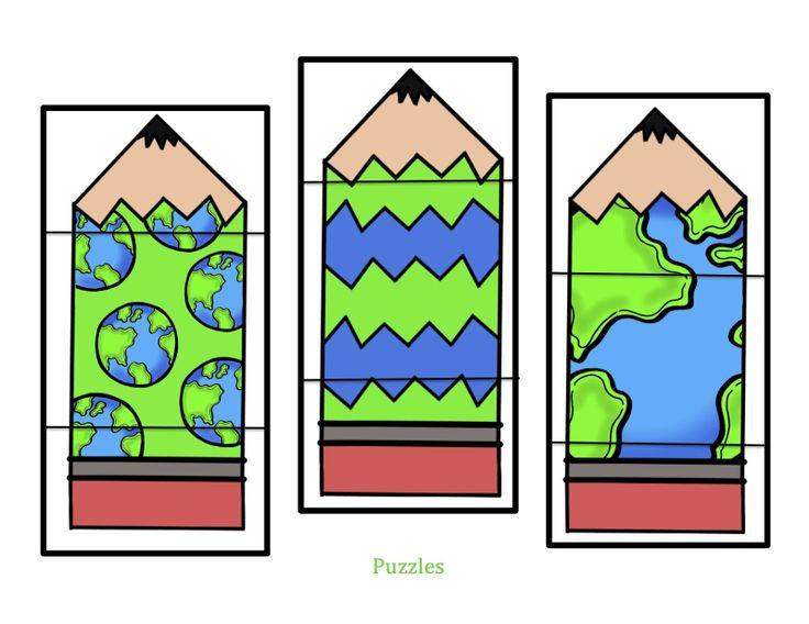 Earth pencil puzzles
