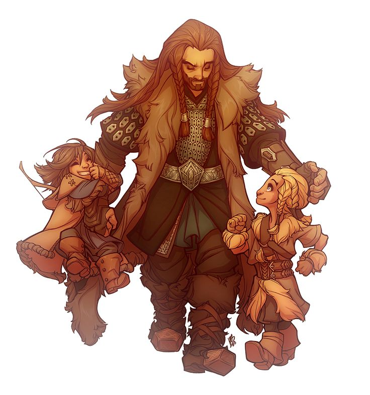 Fan Art Friday – The Hobbit Fanart for your consumption because March 25 is…