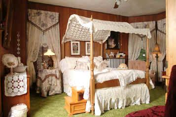 Victorian Decorating | victorian room full size bed victorian decor private bath window air ...