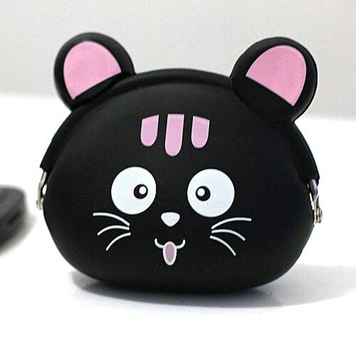 Coin Pouch Kucing Hitam 2 Rp 50.000