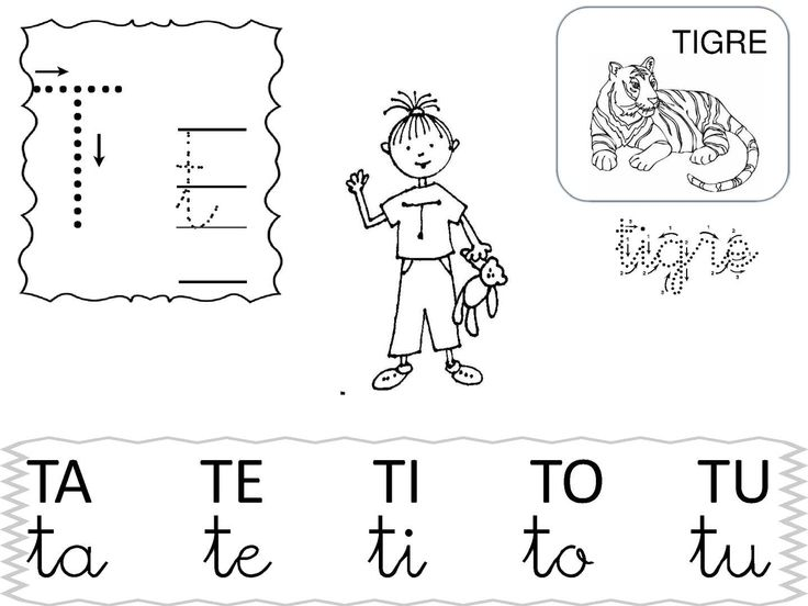 T T Tigre TA TE TI TO TU Ta Te Ti To Tu TIGRE