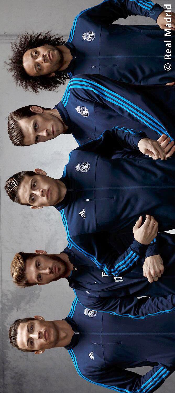 Real Madrid - Cristiano Ronaldo, Sergio Ramos, James Rodriguez, Gareth Bale & Marcelo.