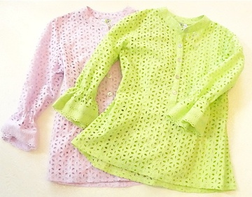 Lilac Colored Blouse Shell 29