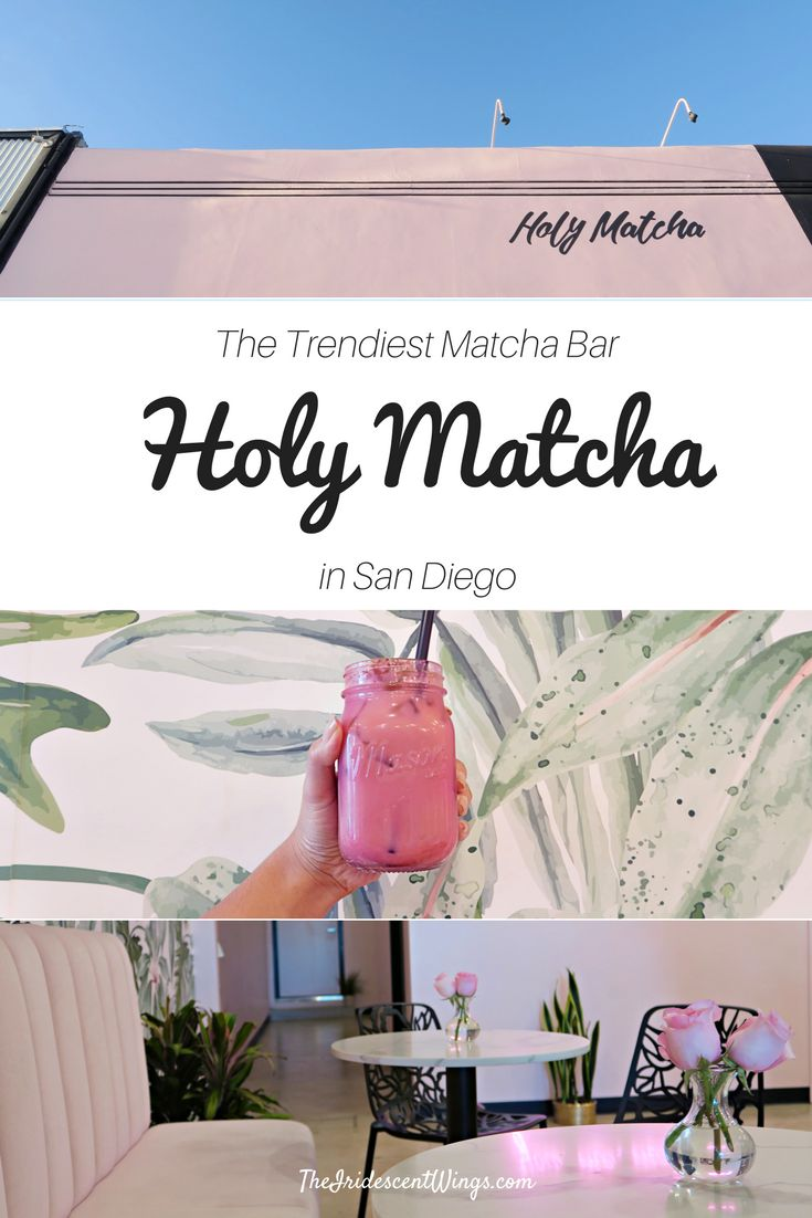 Travel California | San Diego | Trendy | Places to Eat | North Park | Things to Do Read: https://www.theiridescentwings.com/single-post/2017/03/31/Holy-Matcha-%C2%BB-The-Trendy-Match-Bar-North-Park-San-Diego-California