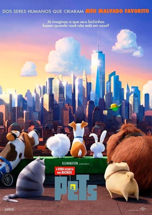 Watch The Secret Life of Pets 2016 Full Movie Online Free