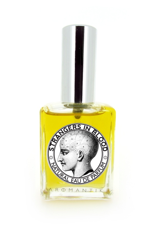 'strangers in blood' natural eau de parfum spray by Aromantik. www.aromantik.com.au