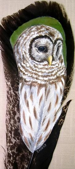 Barred Owl by Gail Savage