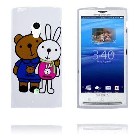 Happy Cartoon (Jeg med) Sony Ericsson Xperia X10 Deksel