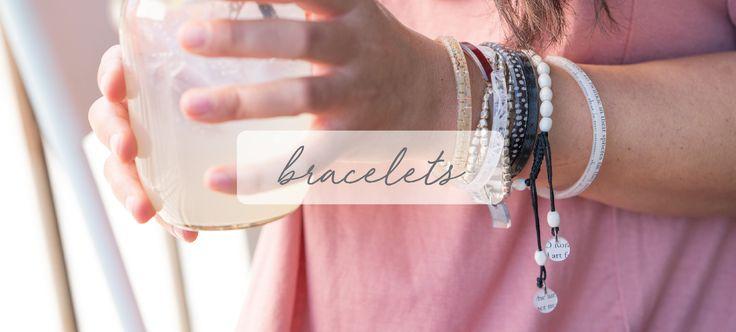 Shop our eco-friendly bracelets