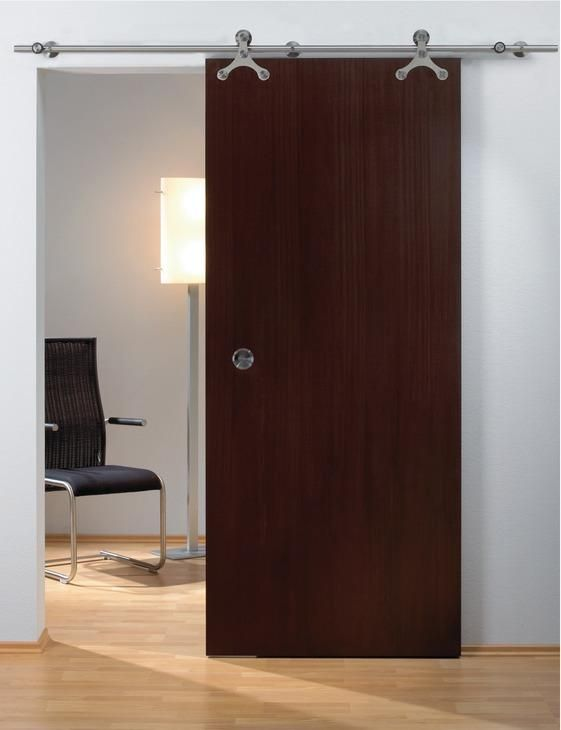 View The Hafele 941 07 005 Top Hung Wood Sliding Door Fitting Set With Upper Track At Pullsdirect Com Door Fittings Sliding Door Handles Barn Door Handles