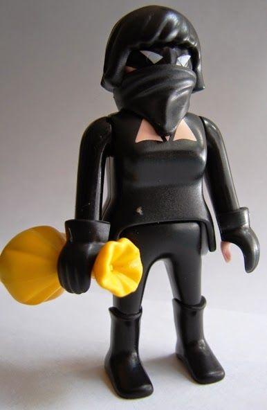 Toyriffic: Preschool Week :: Playmobil Catwoman Custom Figure