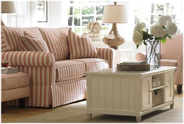 Striped Couch Furniture Pinterest Striped Couch And