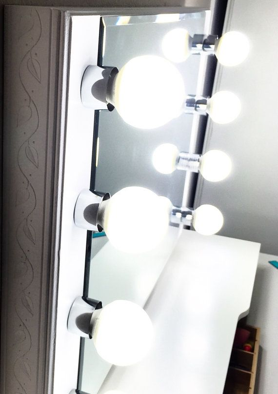 Vanity Light Mirror Nz : 17 Best images about Dressing & Vanity on Pinterest Make up storage, Lighted mirror and Diy makeup