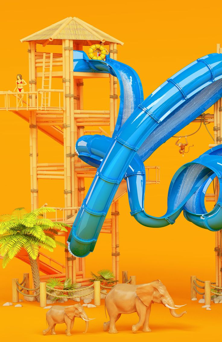 Our self initiated Yolo waterslide artwork found some fans over in Wisconsin, USA. The African themed water and amusement park Kalarhari comes up with such crazy and thrilling water rides that they decided to invent their newest advertising keyvisual with…