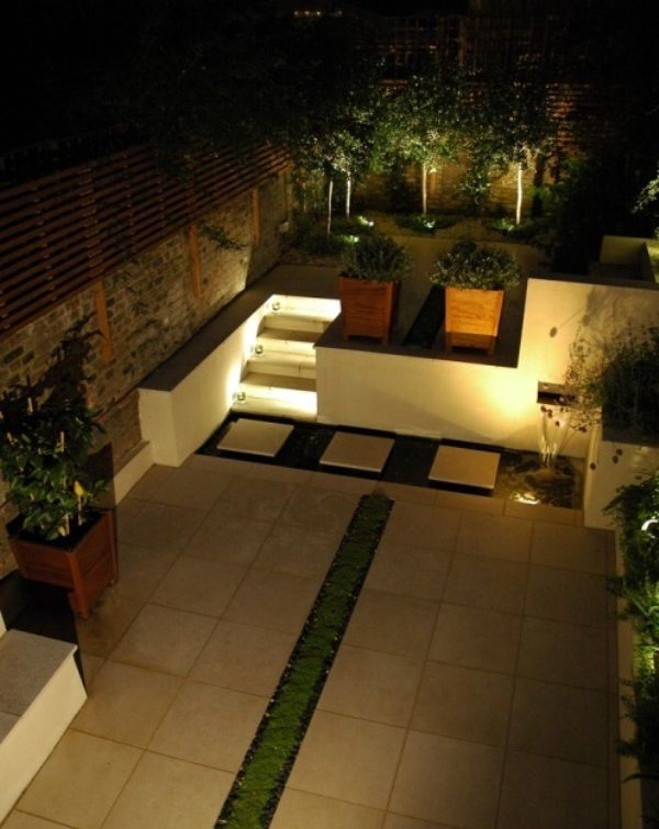 33 best images about small garden ideas on pinterest for Modern garden design for small spaces